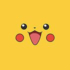 Pikachu Face  by LoveTheWeekndXO