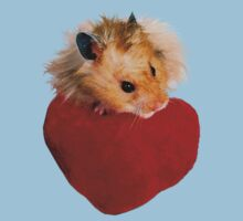 Hamster with Heart by jkartlife