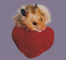 Hamster with Heart Kids Clothes