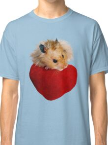 Hamster with Heart Classic T-Shirt