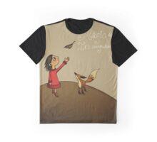 Magic (Fox and Girl) Graphic T-Shirt