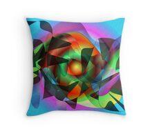Bright new world Throw Pillow
