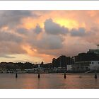 Cronulla Marina at Sunset by kathybellingham