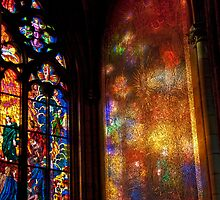 Stained Glass Reflections by phil decocco
