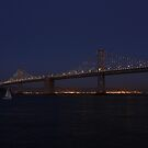Patterns in the Night - The Bay Lights by fototaker