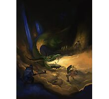 Dragon Warriors Bestiary Photographic Print