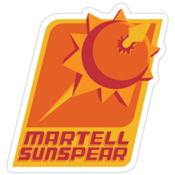 Sigil of House Martell 2013 (Sticker) by thom2maro