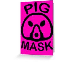Pigmask (Black) Greeting Card