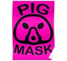 Pigmask (Black) Poster