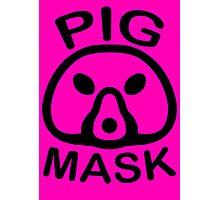 Pigmask (Black) Photographic Print