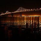 San Francisco Bay Bridge - The Bay Lights by fototaker