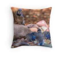 Need food now! Throw Pillow