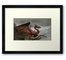 Dragon King Framed Print
