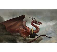Dragon King Photographic Print