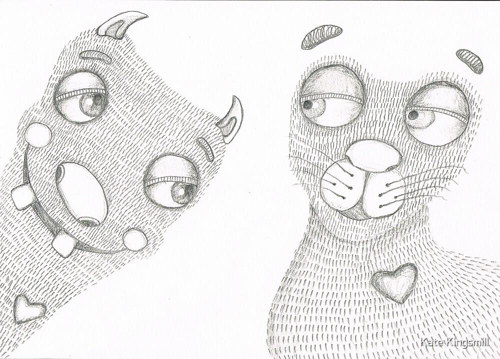 Monsters need love too by Kate Kingsmill