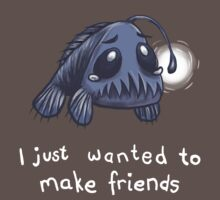 I just wanted to make friends by Calista Douglas