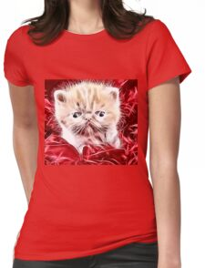 Wild nature - pussy #4 Womens Fitted T-Shirt