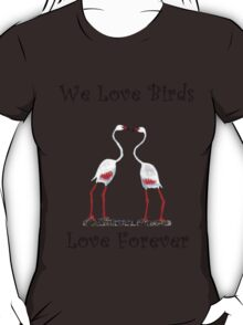Birds In Love T shirt Special  T-Shirt