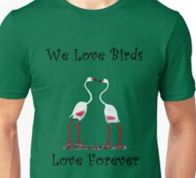 Birds In Love T shirt Special  Unisex T-Shirt