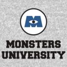 Monsters University by thisislumos