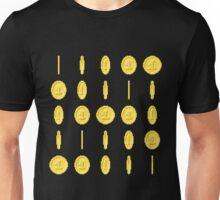 Spinning Coin Pixel Tee Unisex T-Shirt