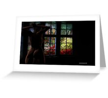 Room with a view. Greeting Card