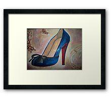 Christian Louboutin Red Bottom Heel  Framed Print