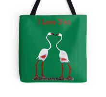 Bird In Love Valentine Day Special Tote Bag