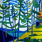Honeymoon Lake Cottage by brettonarts