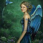 Blue bird by ChelseaRose