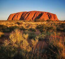 Ayers Rock (Uluru) by Kim Andelkovic