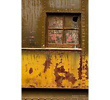 Parlor Car Window Photographic Print
