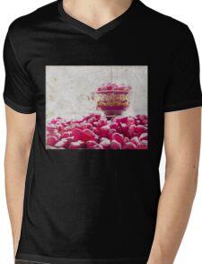 Pomegranate Mens V-Neck T-Shirt