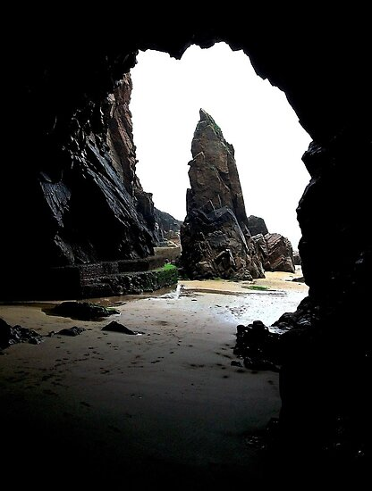 Needle Rock, Jersey by Andrew Pounder