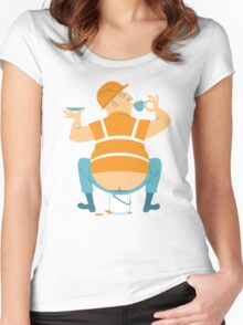 Builder's Tea Women's Fitted Scoop T-Shirt