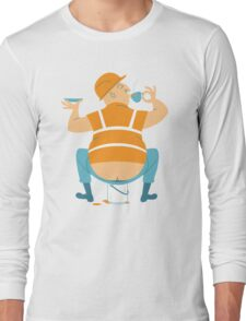 Builder's Tea Long Sleeve T-Shirt