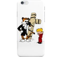 calvin and hobbes Funny iPhone Case/Skin
