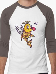 Angelic Fish Men's Baseball ¾ T-Shirt