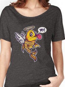 Angelic Fish Women's Relaxed Fit T-Shirt