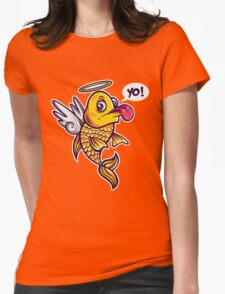 Angelic Fish Womens Fitted T-Shirt