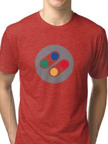 Super Nintendo Controller Tri-blend T-Shirt