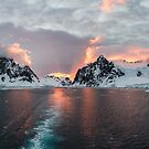 Sunset at Lemaire Channel by Mark Prior