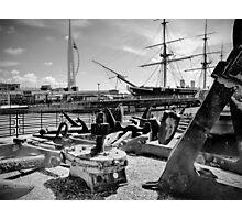 Anchors Away ! Photographic Print