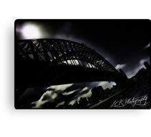 Gotham Harbour Canvas Print