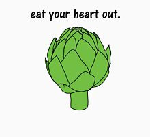 eat your heart out. (artichoke) Womens Fitted T-Shirt