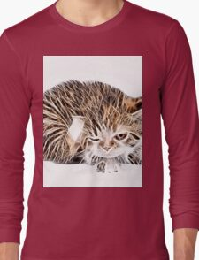 wild nature - pussy #9 Long Sleeve T-Shirt
