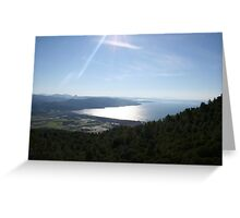 Spectacular Aegean Coast Greeting Card