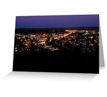 Flagstaff at night Greeting Card