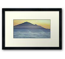 Kilimanjaro Framed Print