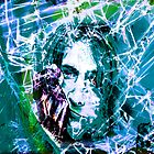Kurt Cobain - Fractured Blue by SRowe Art